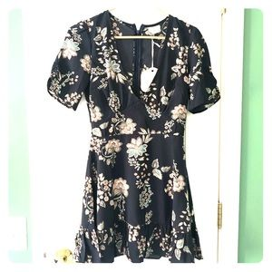 Hello Molly short sleeve floral dress